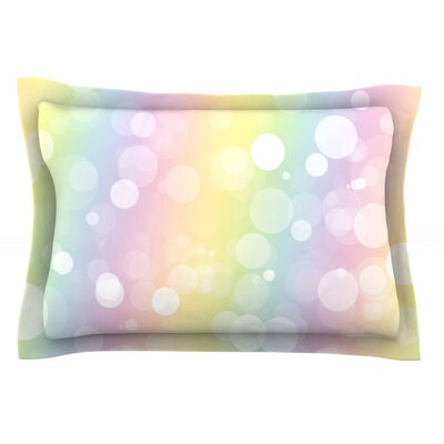 Pastel Prism Featherweight Pillow Sham Size: King, Fabric: Cotton