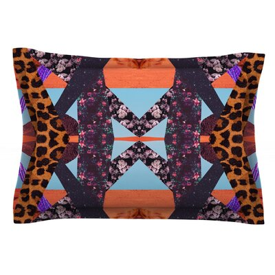 Pillow Kaleidoscope by Vasare Nar Featherweight Pillow Sham Size: Queen, Fabric: Cotton