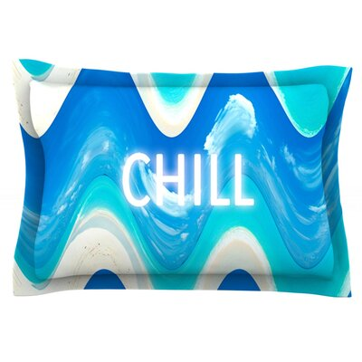 Chill by Vasare Nar Featherweight Pillow Sham Size: King, Fabric: Cotton