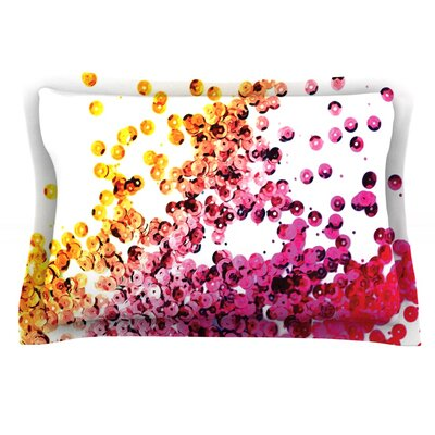 Balance by Louise Machado Featherweight Pillow Sham Size: King, Fabric: Cotton