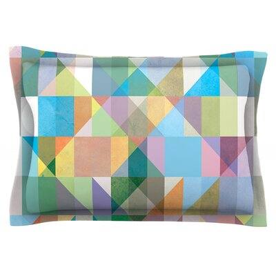 Graphic 74 by Mareike Boehmer Featherweight Pillow Sham Size: Queen, Fabric: Cotton