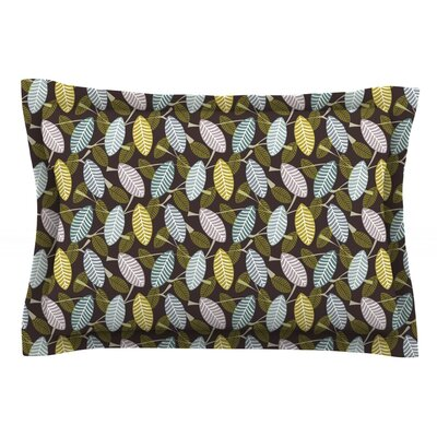 Moss Canopy by Julie Hamilton Featherweight Pillow Sham Size: King, Fabric: Cotton