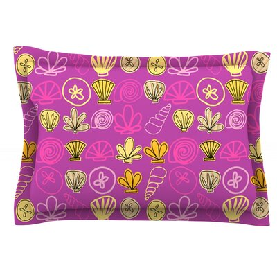 Under the Sea Mermaid by Jane Smith Featherweight Pillow Sham Size: King, Fabric: Cotton
