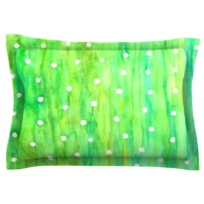 Sprinkles by Rosie Brown Featherweight Pillow Sham Size: Queen, Fabric: Cotton