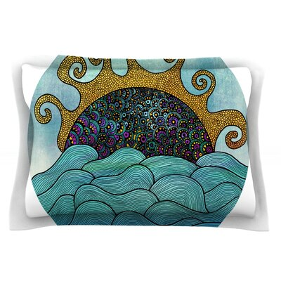 Oceania by Pom Graphic Design Featherweight Pillow Sham Size: King, Fabric: Cotton