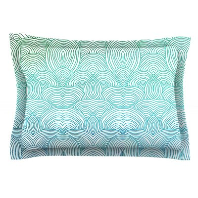 Clouds in the Sky by Pom Graphic Design Featherweight Pillow Sham Size: King, Fabric: Cotton