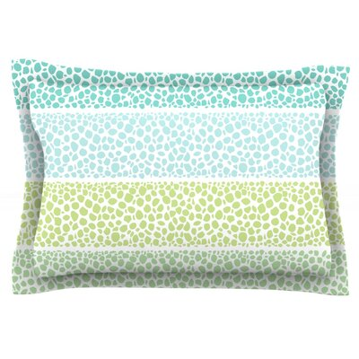 Zen Pebbles by Pom Graphic Design Featherweight Pillow Sham Size: King, Fabric: Cotton