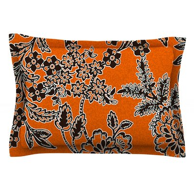 Blossom by Vikki Salmela Featherweight Pillow Sham Size: King, Fabric: Cotton