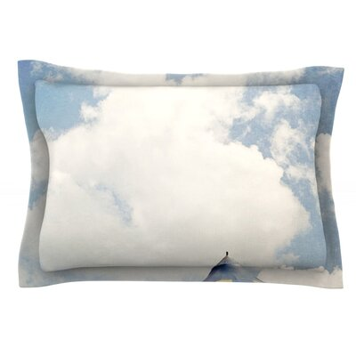 Carnival Tent by Susannah Tucker Featherweight Pillow Sham Size: King, Fabric: Cotton