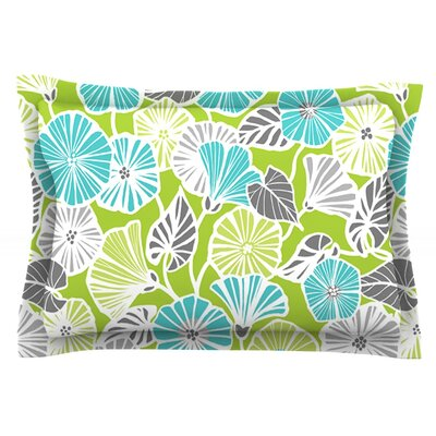Trumpet Vine by Jacqueline Milton Featherweight Pillow Sham Size: Queen, Fabric: Cotton