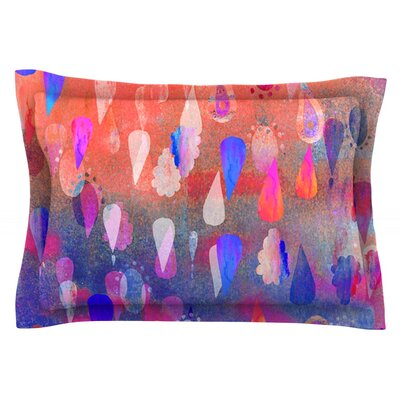 Bindi Dreaming by Nikki Strange Featherweight Pillow Sham Size: Queen, Fabric: Cotton
