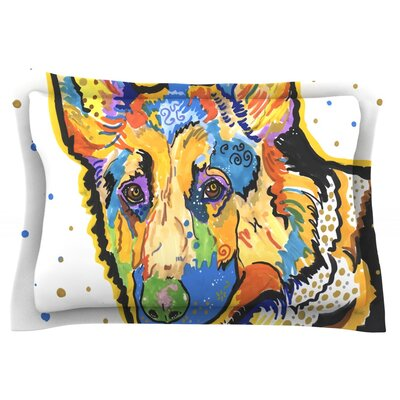Floyd by Rebecca Fischer Featherweight Pillow Sham Size: Queen, Fabric: Cotton