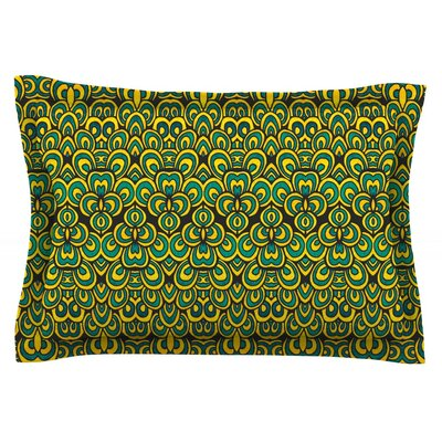 Animal Temple II by Pom Graphic Design Featherweight Pillow Sham Size: Queen, Fabric: Cotton