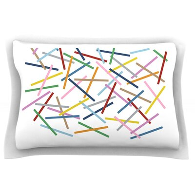 Sprinkles by Project M Featherweight Pillow Sham Size: Queen