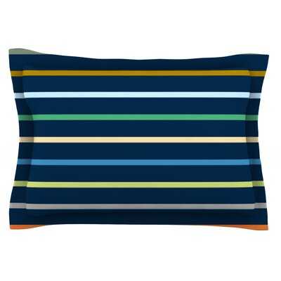 Tanak by Trebam Featherweight Pillow Sham Size: King, Fabric: Cotton
