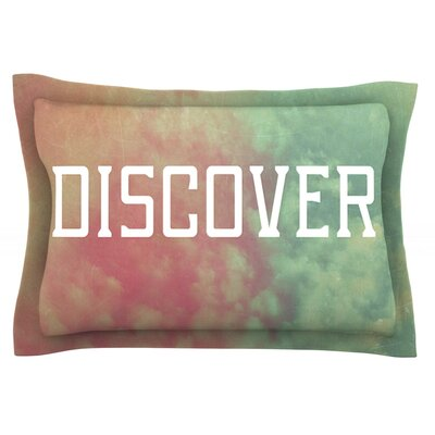 Discover by Rachel Burbee Featherweight Pillow Sham Size: Queen, Fabric: Cotton