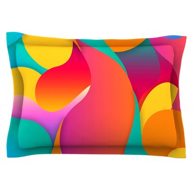Still Life by Danny Ivan Featherweight Pillow Sham Size: Queen, Fabric: Cotton