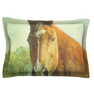 CT by Robin Dickinson Featherweight Pillow Sham Size: King, Fabric: Cotton