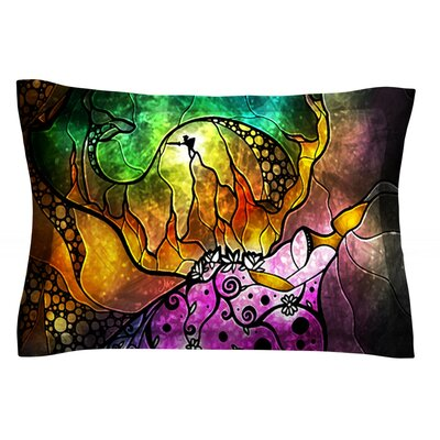 Sleeping Beauty by Mandie Manzano Featherweight Pillow Sham Size: Queen, Fabric: Cotton