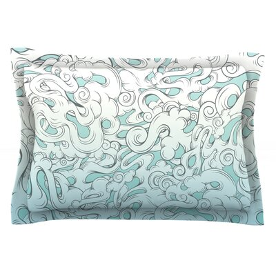 Entangled Souls by Mat Miller Featherweight Pillow Sham Size: King, Fabric: Cotton