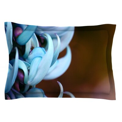 Bloom by Suzanne Carter Featherweight Pillow Sham Size: King, Fabric: Cotton