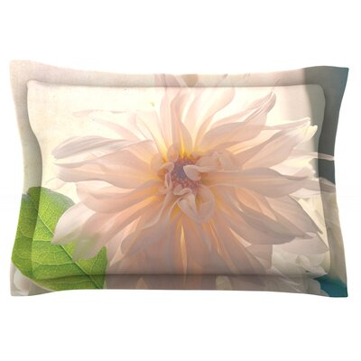 Buy Her Flowers by Robin Dickinson Featherweight Pillow Sham Size: King, Fabric: Cotton