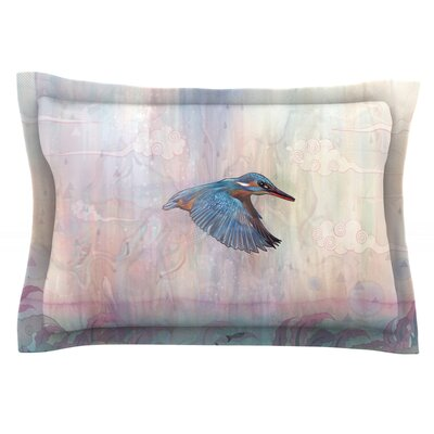 Terror from Above by Mat Miller Featherweight Pillow Sham Size: King, Fabric: Cotton