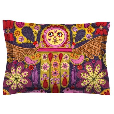 Indian Jewelry by Jane Smith Featherweight Pillow Sham Size: King, Fabric: Cotton