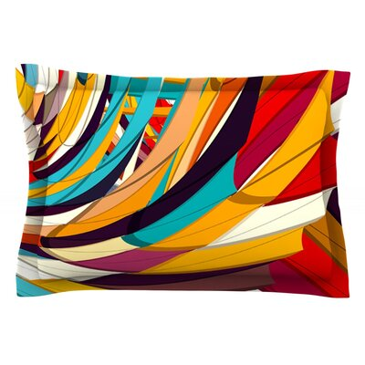 Demy World by Danny Ivan Featherweight Pillow Sham Size: King, Fabric: Cotton