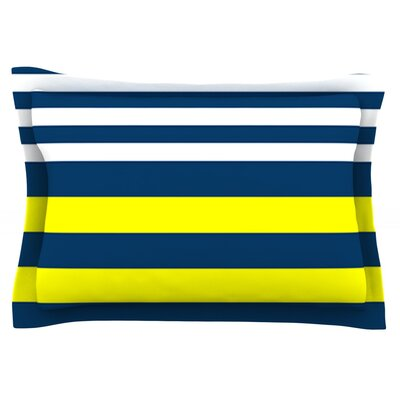 Nauticki by Trebam Featherweight Pillow Sham Size: Queen, Fabric: Cotton