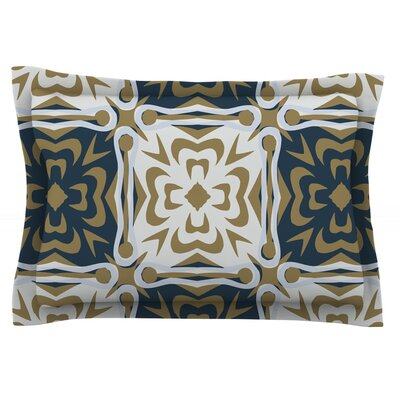 Contemporary Granny by Miranda Mol Featherweight Pillow Sham Size: Queen, Fabric: Cotton
