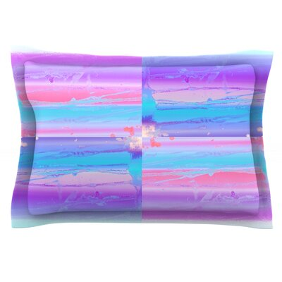 Drip Dye by Nina May Featherweight Pillow Sham Size: Queen, Fabric: Cotton