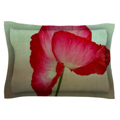 La Te Da by Robin Dickinson Featherweight Pillow Sham Size: King, Fabric: Cotton