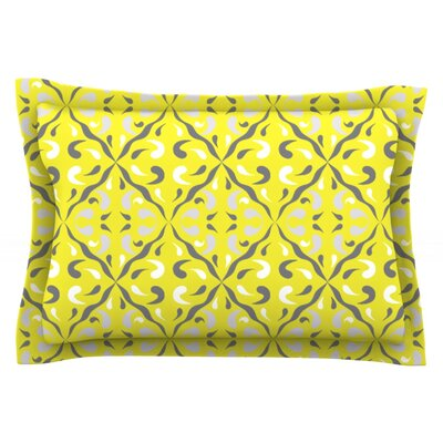 Seedtime by Miranda Mol Featherweight Pillow Sham Size: King, Fabric: Cotton