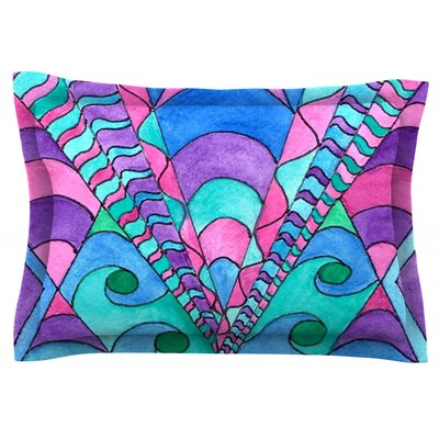 Gatsby Inspired by Rosie Brown Featherweight Pillow Sham Size: King, Fabric: Cotton