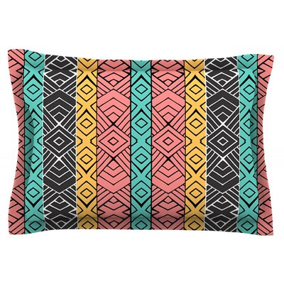 Artisian by Pom Graphic Design Featherweight Pillow Sham Size: King, Fabric: Cotton