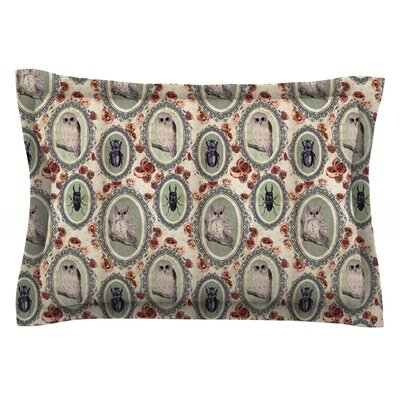 Camafeu by DLKG Design Featherweight Pillow Sham Size: King, Fabric: Cotton