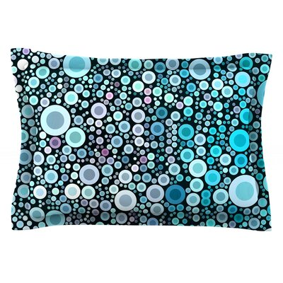 Aquatic by Sylvia Cook Featherweight Pillow Sham Size: Queen, Fabric: Cotton