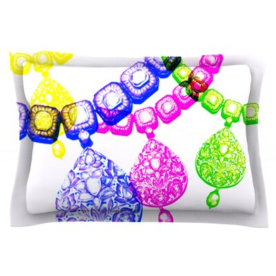Precious by Sreetama Ray Featherweight Pillow Sham Size: King, Fabric: Cotton