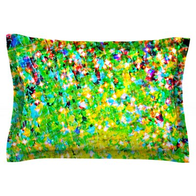 Holiday Cheer by Ebi Emporium Featherweight Pillow Sham Size: King, Fabric: Cotton