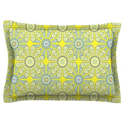 Budtime by Miranda Mol Featherweight Pillow Sham Size: Queen, Fabric: Cotton