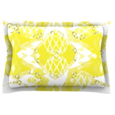 Citrus Spritz by Miranda Mol Featherweight Pillow Sham Size: King, Fabric: Cotton