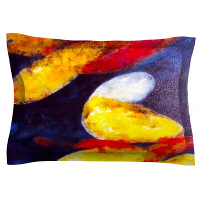 Into The Light by Rosie Brown Featherweight Pillow Sham Size: King, Fabric: Cotton