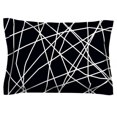 Paucina by Trebam Featherweight Pillow Sham Size: Queen, Fabric: Cotton