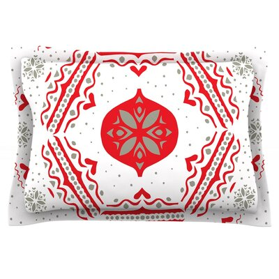 Snowjoy White by Miranda Mol Featherweight Pillow Sham Size: King