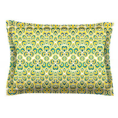Animal Temple by Pom Graphic Design Featherweight Pillow Sham Size: Queen, Fabric: Cotton