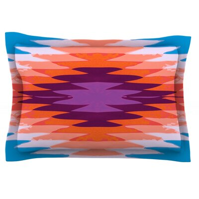 Surf Lovin Hawaii by Nika Martinez Featherweight Pillow Sham Size: King, Fabric: Cotton