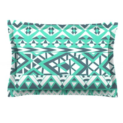 Tribal Simplicity by Pom Graphic Design Featherweight Pillow Sham Size: King, Fabric: Cotton