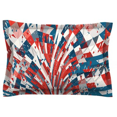 Feel Again by Danny Ivan Featherweight Pillow Sham Size: Queen, Fabric: Cotton