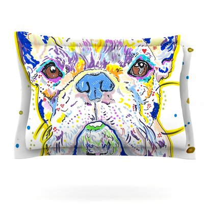 Niko by Rebecca Fischer Featherweight Pillow Sham Size: Queen, Fabric: Cotton